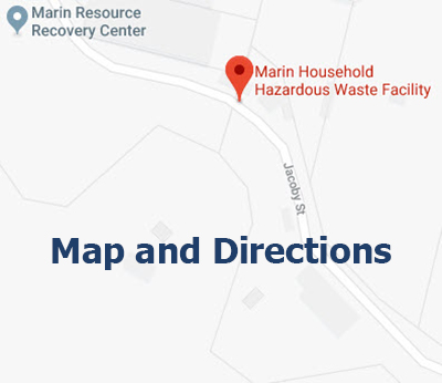 Marin HHW Map